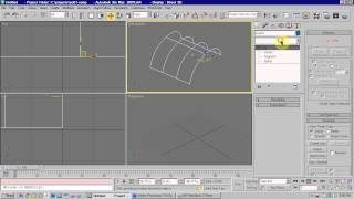 3DSMax Spline Modelling - Using Splines and Surface