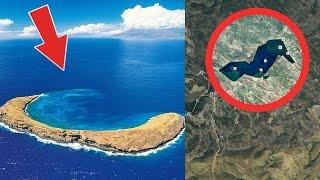 5 luoghi segreti censurati su Google Earth