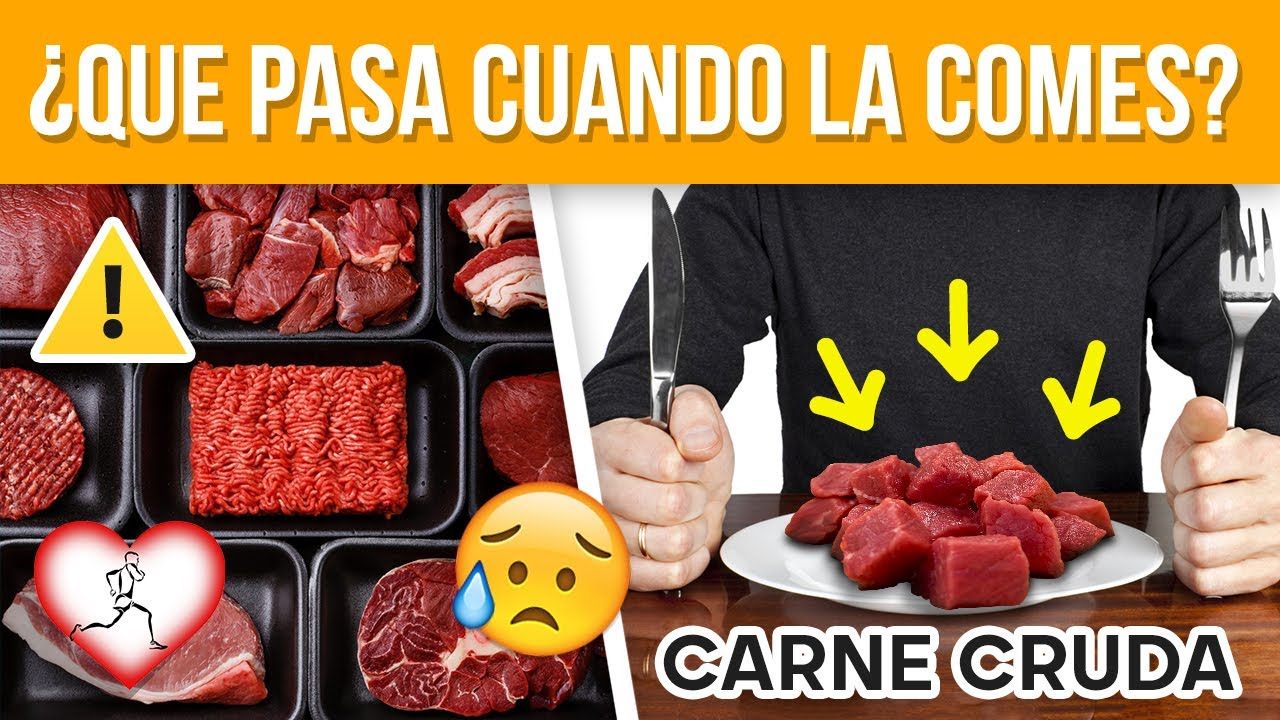 10 Alimentos que nunca deberías COMER CRUDOS por tu salud
