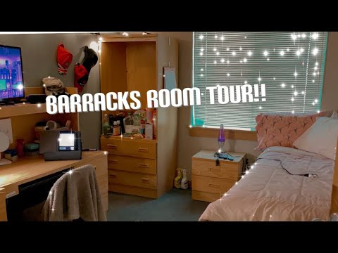 Download ARMY BARRACKS ROOM TOUR!