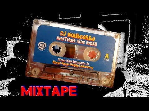 a new mixtape by DJ MARCELLE / ANOTHER NICE MESS | baze.djunkiii #unboxing