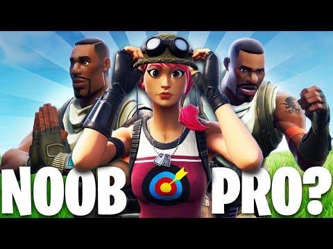 NOOB vs PRO?! | A Fortnite Film