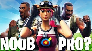NOOB vs PRO?! | A Fortnite Film