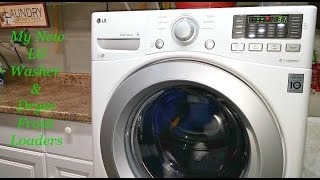 review pt 1 we chose to buy the lg front load washer and dryer