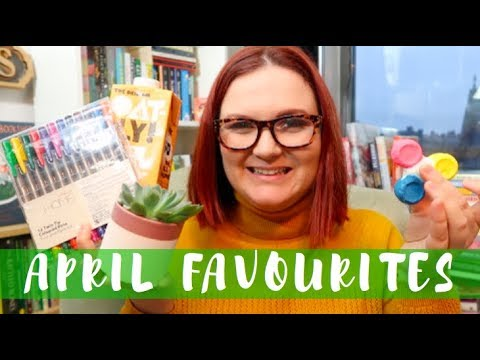April Favourites | Lauren and the Books
