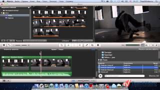 Работа со звуком и аудио эффекты в iMovie