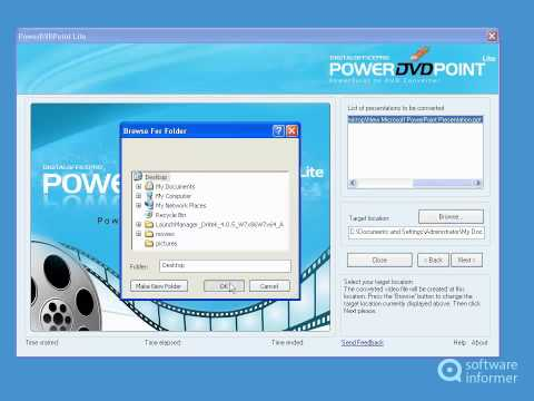 Let's have a look at PowerDVDPoint Lite
