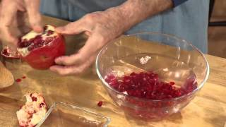 Jacques Pépin Techniques: H๐w To Easily Seed A Pomegranate