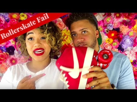 #FAIL ! ROLLER SKATING WITH MY BOYFRIEND GONE WRONG IN NYC // COLOR ME COURTNEY