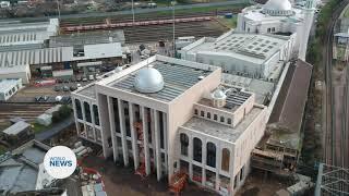 Reconstruction of Baitul Futuh Mosque complex continues