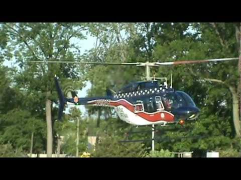 Air Evac Lifeteam helicopter takeoff