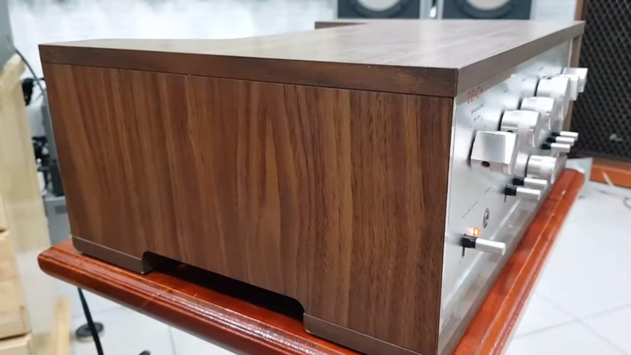 Amply DENON PMA 300 ZA vỏ gỗ zin – đẹp hoài cổ, giá 3,6 triệu