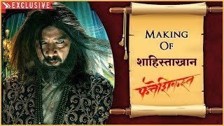 FATTESHIKAST | MAKING OF SHAHISTE KHAN | Behind The Scenes | Anup Soni | Hindi
