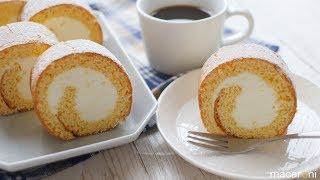 ロールケーキ macaroni   マカロニさんのレシピ書き起こし