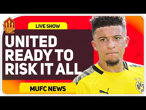 Sancho Transfer Panic! Badiashile Deal Off! Man Utd Transfer News