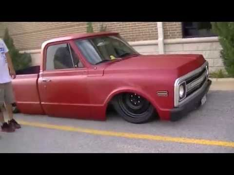 Bagged and slammed c10 trucks dropped and clean 67 72 youtube sciox Image collections