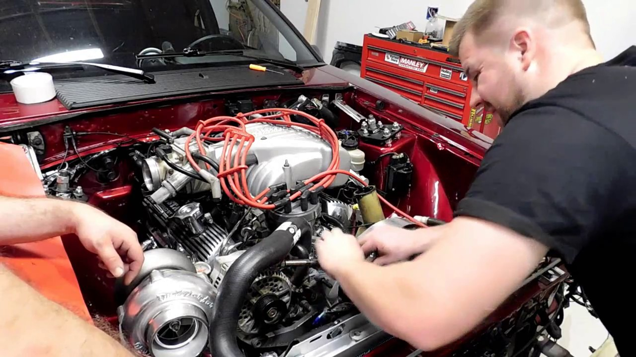 On3 Turbo Installation Part 3: Hotside and Turbo