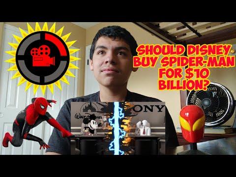 Film Theory: Should Disney Buy Spider-Man For $10 Billion? (Disney Vs Sony) REACTION