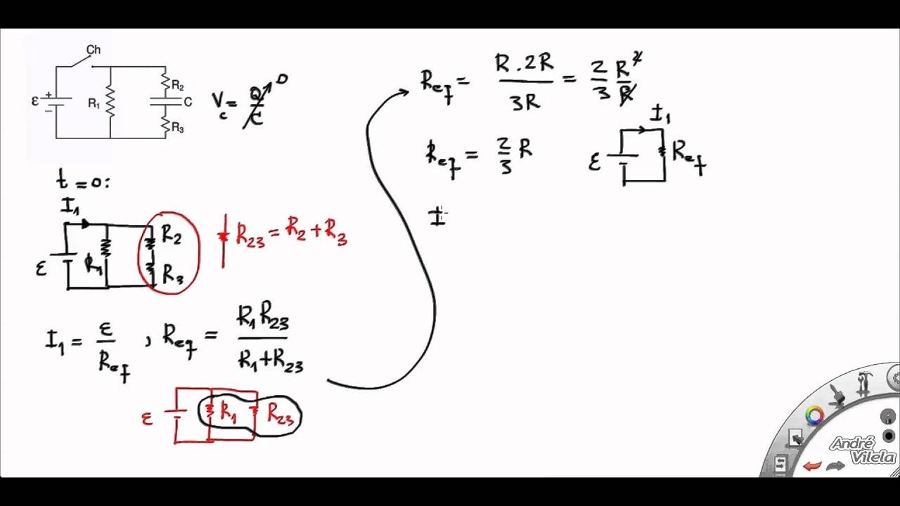 Circuito Rlc Serie Exercicios Resolvidos : Circuitos elétricos exemplo ufpe problema