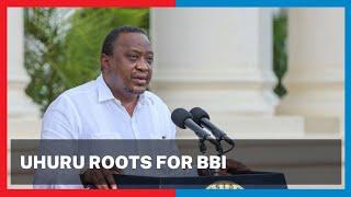 President Uhuru roots for BBI in the Mt. Kenya region   Political Point