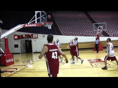 Tom Crean Fantasy Basketball Experience - YouTube