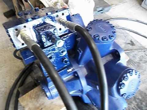 Staffa Hydraulic Motor Overhaul And Pressure Test Youtube