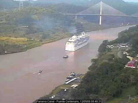 Coral Princess webcam from ship and shore
