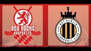 VfL Red Hocks Kaufering - BAT Berlin Highlights / 2. Spieltag / 1. Bundesliga 2018/19