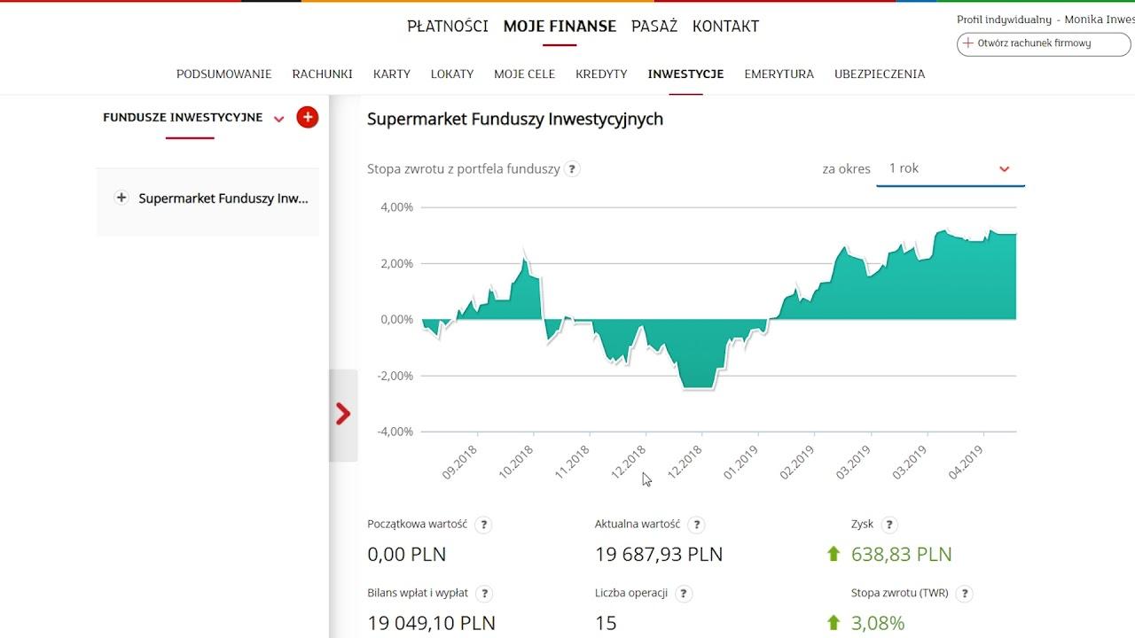 mBank: Inwestycje. Jak przeglądać historię funduszy i wyniki Twoich inwestycji ?