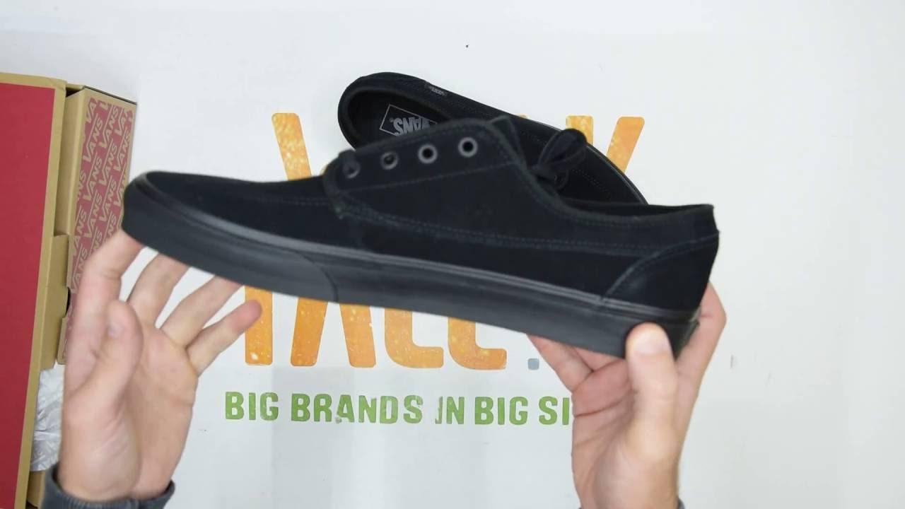 dd60a6dd93f23e Vans Brigata - Black  Black - Unboxing