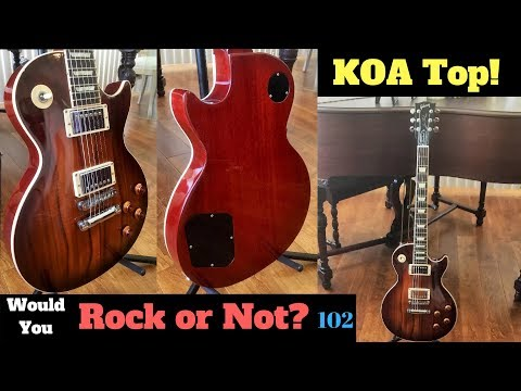Koa on a Les Paul? 2013 KOA Top Les Paul Standard | Would You Rock or Not? 102