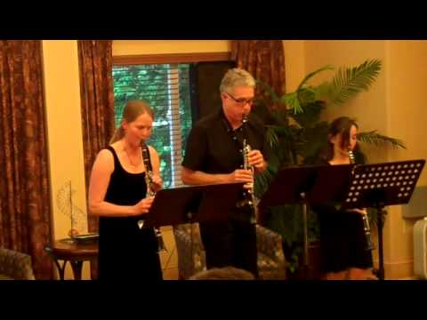 simple gifts clarinet trio