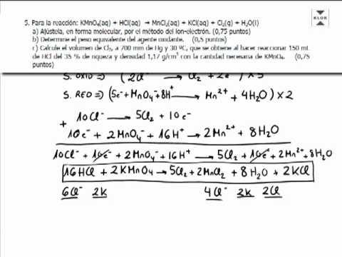 Balanceo por ion electron definicion