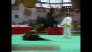 Martial Art Silat brutal fight