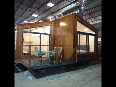#modAlpine 1BHK Prefabricated Factory-Made Modular Home suitable for Farm Houses and Second Homes