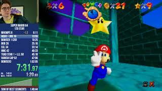 Clint Stevens - Mario 64 speedruns & Mario Kart 8 [September 1, 2021]