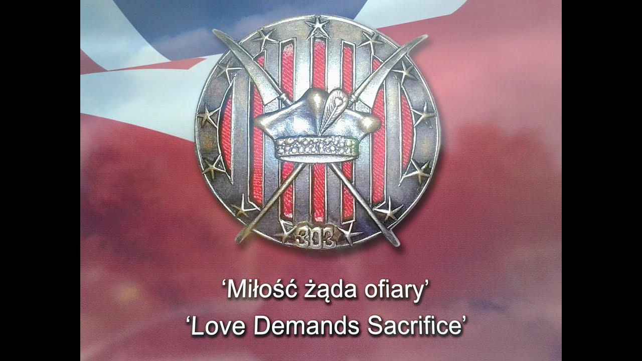 THE SHANKILL HONOR THE LEGEND OF 303 POLISH AIR SQUADRON - YouTube