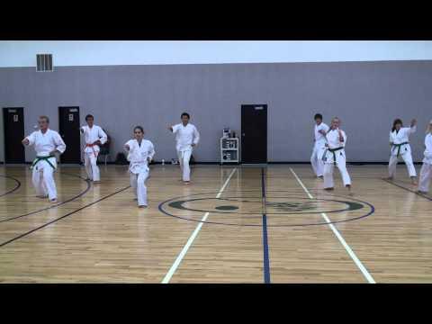 Cedar Ridge Academy Teams 3 and 4 Training Kata Faceoff