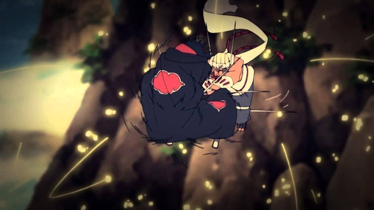 NARUTO ~ Killer Bee VS Sasuke ~ Sword Fight - YouTube