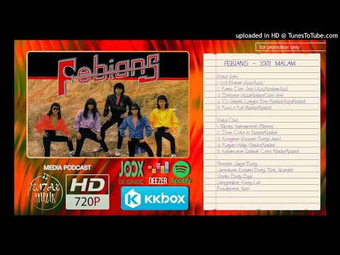 Febians - 1001 Malam (Full Album 1989)