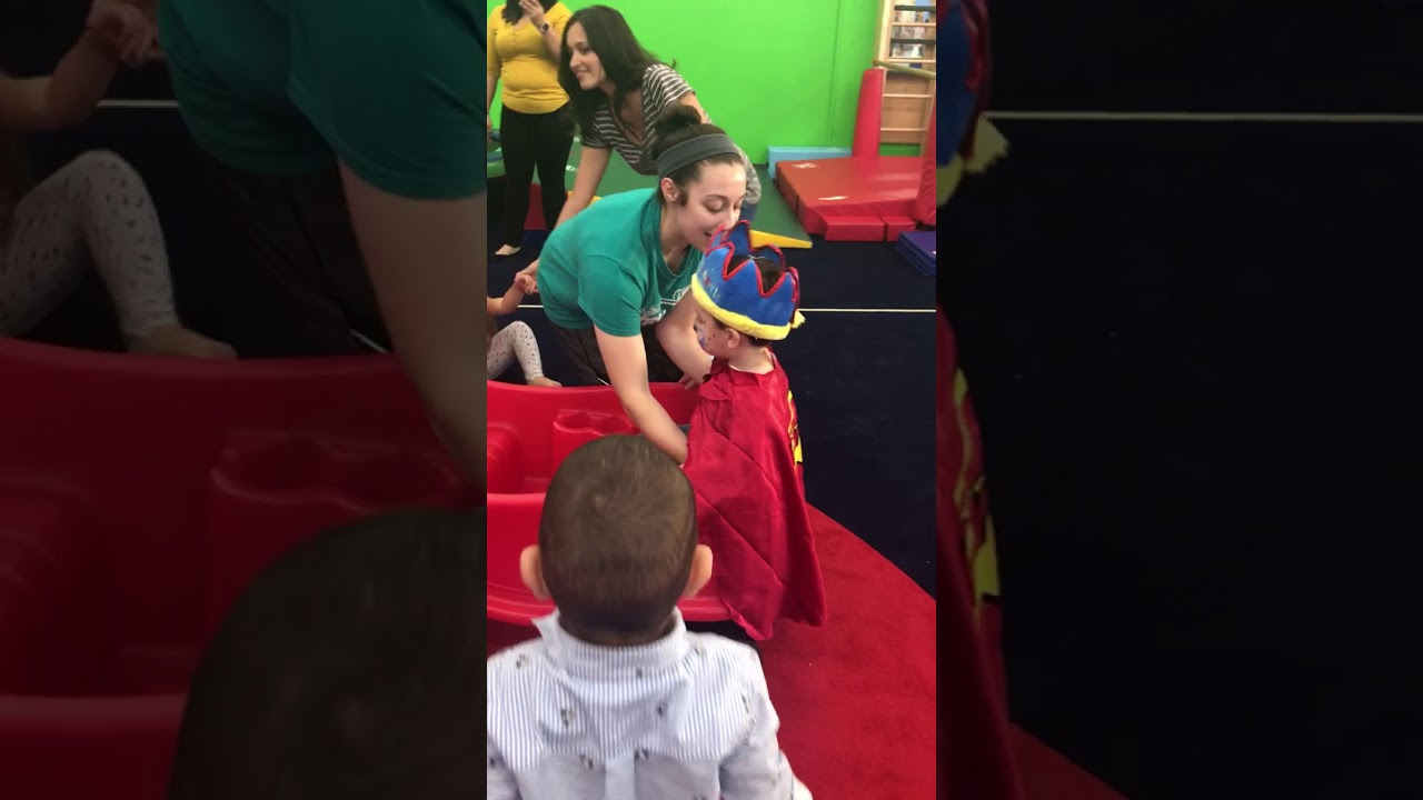 aidan s 2nd birthday celebration at my gym winter garden
