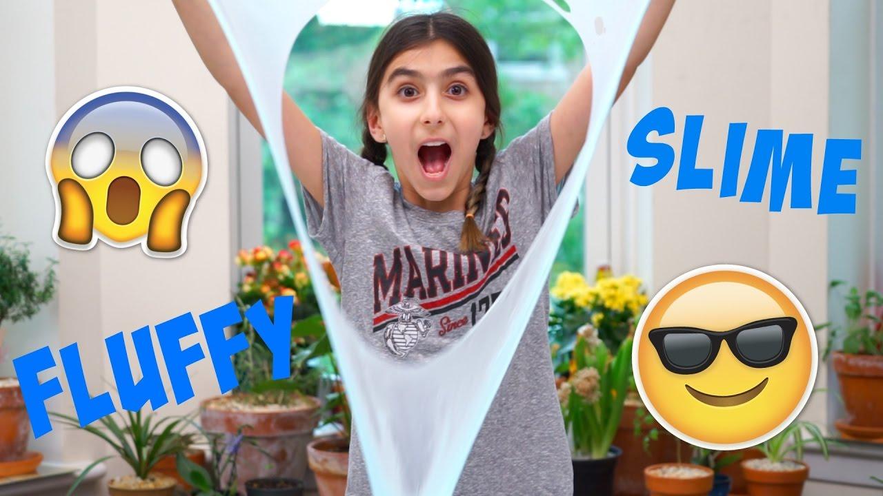How To Make Fluffy Slime! Maryam Vaziri