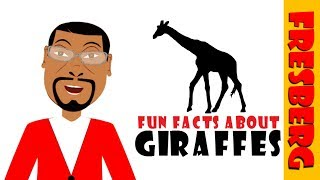 10 Amazing Facts about Giraffes for Kids! Learn about Giraffes (Educational Video on Animals)