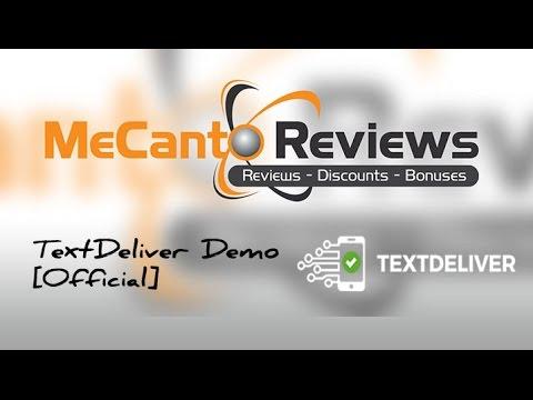 TextDeliver Review - Vendor Demo