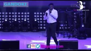 Gandoki Lekzy De Comic James Brown Cracks Up At 2018 Easter Comedy Show