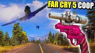 RISAS ONLINE Y EL REVOLVER SCOPED ROSA - FAR CRY 5 COOP | Gameplay Español