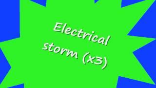 U2 Electrical Storm lyrics in HD