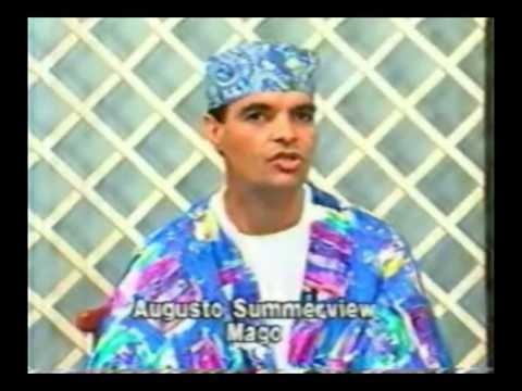 O Mago Summerview muito jovem na Tv vitoria Rede Manchete
