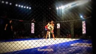 WMMA Fight: Nina Ansaroff vs. Aylla Caroline Lima da Silva (Body Kick TKO) - Fight League 10