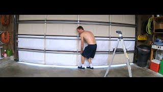 homepage tile video photo for LastHumansHomeLife: Garage Door Project - Part 2 -Adjusting Spring Tension